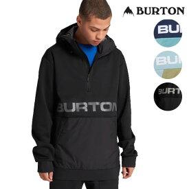 20SS BURTON 撥水パーカー Men's Crown Bonded Performance Fleece PO 21740100: 正規品/バートン/メンズ/スノーボード/ウエア/アノラック/スノボ/snow