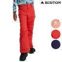 「全品5倍 26日16時〜3月1日迄」20-21 子供用 BURTON パンツ Girls' Sweetart Pant 11584105: 正規品/バートン/スノ…