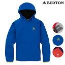 「全品5倍 4日20時〜11日02時迄」20-21 子供用 BURTON 撥水パーカー Crown Weatherproof Pullover Fleece 22122100: …