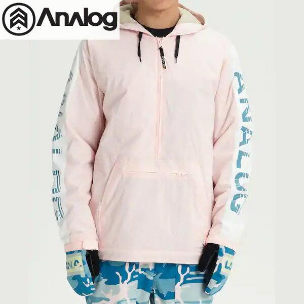 「全品5〜10倍 11/19朝10時迄!」18-19 ANALOG ジャケット Men's Analog Chainlink Anorak 20620100: Crystal 正規品/アナログ/メンズ/スノーボードウエア/snow