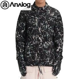 「全品5倍 8月3日迄」18-19 ANALOG ジャケット Men's Analog Sparkwave Jacket 20621100: Splatter Camo 国内正規品/アナログ/メンズ/スノーボードウエア/snow/スノボ