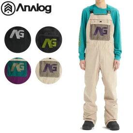 19-20 Analog ビブパンツ Ice Out Bib Pant 20624101:国内正規品/アナログ/スノーボードウエア/メンズ/スノボ/バートン/BURTON /snow