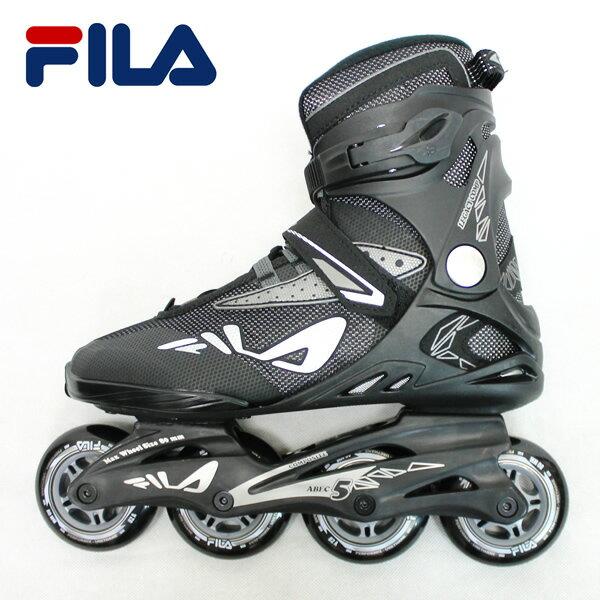 「全品5倍 22日10時迄」19SS FILA インラインスケート LEGACY COMP 010619120: Blk Grey 正規品/メンズ/レディース/フィラ/ローラーブレード/skate