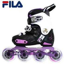 FILA 子供用 インラインスケート NRK JUNIOR girl 010620135: 正規品/ジュニア/キッズ/ローラーブレイド/skate