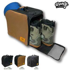 「全品5倍 7日15時〜12日正午迄」20-21 ORAN'GE ブーツバッグ Deluxe boots bag: 正規品/メンズ/ORANGE/オレンジ/スノーボード/スノボ/snow