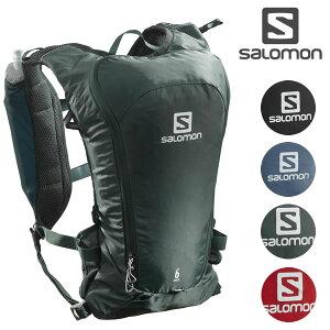 「全品5倍 17日〜20日」20SS SALOMON バックパック AGILE 6 SET: 正規品/バッグ/サロモン/トレイルランニング/outdoor