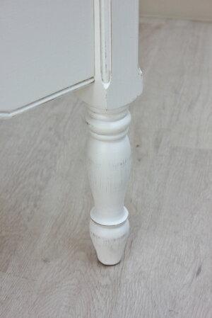 フランス家具ホワイト家具フレンチ人気シャビーレトロヨーロッパアンティーク調エレガントヨーロピアン木製白おしゃれ寝室リビングベッドCountryCornerカントリーコーナーシングルベッドロマンスコレクションCC-121042
