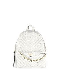 ヴィクトリアシークレットV-キルトスモールシティバックパック/リュックPebbled V-Quilt Small City Backpack