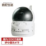 監視カメラ/防犯カメラ送料無料簡単IPネットワークカメラ