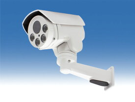 WTW-PR883PT 高性能IPネットワークカメラ屋外赤外線型カメラ 上下左右に回転可能なPTZカメラ 220万画素 Sony CMOSセンサー搭載 赤外線LEDを搭載 暗視可能 水平350度 垂直 上5度 下40度の旋回 2.8〜12mmの電動式バリフォーカルレンズ搭載
