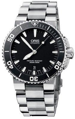 【メンズ】【国内正規】【即納】【20%OFF】【ORIS】オリス 【ダイビング】アクイス デイト 73376534154M