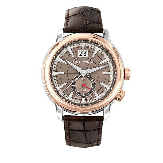 【国内正規品】【即納】【10%OFF】【送料無料】【メンズ腕時計】SAINT HONORE サントノーレSN8670406GIN