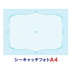 【メール便(日本郵便)なら送料無料!】シーキャッチフォト A4