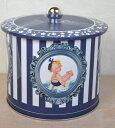 フランス製*ラ・トリニテーヌ レトロキッズバレル缶