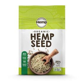 ヘンプフーズ 有機麻の実ナッツ ヘンプシードナッツ 250g オーストラリア産 有機JAS認定 HEMP FOODS 正規代理店 健康志向