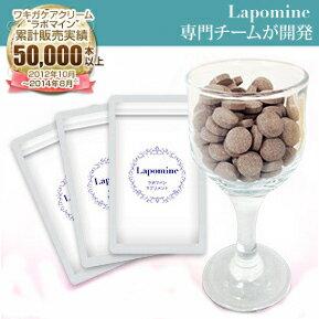 ラポマイン サプリメント Lapomine supplement 3袋/1ヵ月分 デオドラント 大ヒットラポマイン消臭クリームがサプリメントになりました! 送料無料