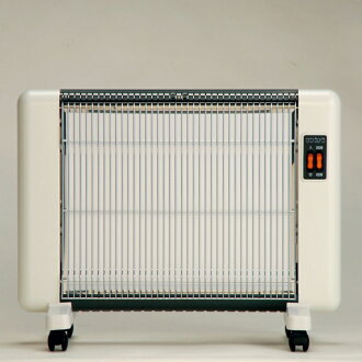 Latest model! Do not pollute the air! No worry of fire! From the core of the body BBW or Poka! Far-infrared heating equipment sanramera 604 (white) 6 tatami mats for.