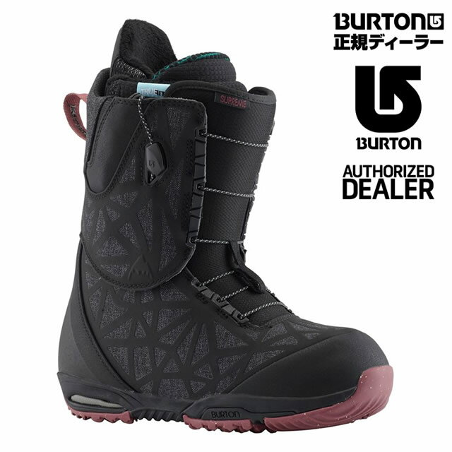 【特典あり】2019 BURTON SUPREME-ASIAN FIT BLACK Women's BOOTバートン レディースブーツ