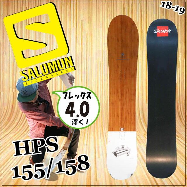 【オリジナル解説あります】SALOMON HILL SIDE PROJECT HPS155-158 2018-19 NAKAIモデル