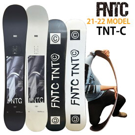【オリジナル解説】FNTC TNT-C BLACK WHITE 147-150-153-157cm エフエヌティーシー ティーエヌティーシー メンズ 2021-22 TNTⒸ tntc