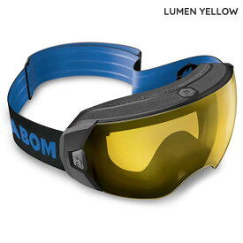 ABOM【エーボム】ゴーグル HEET【正規品】LUMEN YELLOW goggle 2021-22