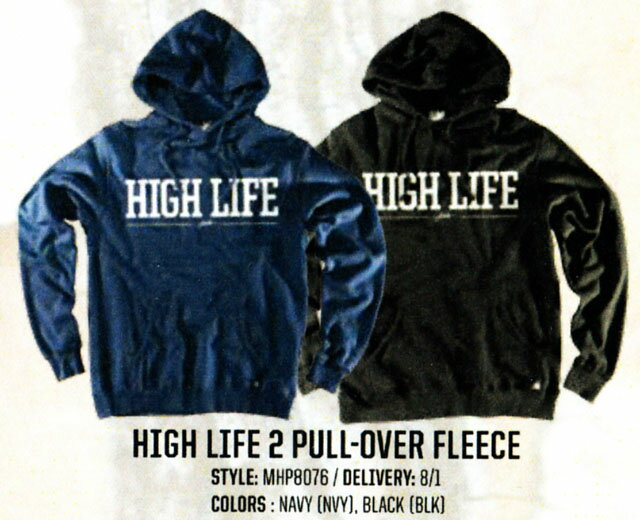 ☆2017FALL☆JSLV【ジャスリブ】HIGH LIFE 2 PULL-OVER FLEECE【正規品】