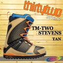 16-17モデル☆THIRTY TWO【サーティートゥー】32 ブーツ TEAM-TWO STEVENS カラー:TAN【正規品】
