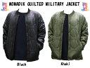 20-21モデル☆NOMADIK【ノマディック】ジャケット QUILTED MILITALY JACKET【正規品】