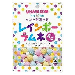 ユーハ味覚糖 レインボーラムネミニ 40g×6個