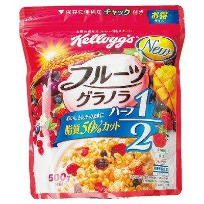 ケロッグ フルーツグラノラハーフ徳用袋500g×6個×2セット