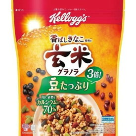 ケロッグ 玄米グラノラ香ばしきなこ400g×6個×2セット