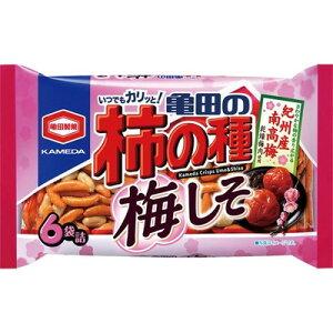 亀田製菓 亀田の柿の種梅しそ×12個×2セット