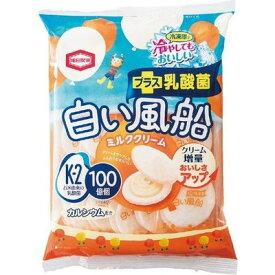 亀田製菓 白い風船ミルククリーム 18枚入×12個