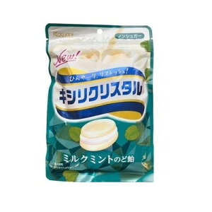 春日井 キシリクリスタル ミルクミントのど飴 71g×72個