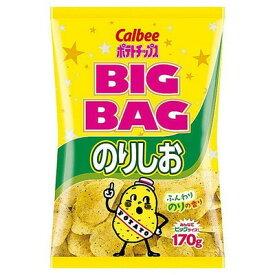 【全商品ポイント5倍 5/10(月)9:00〜5/10(月)23:59】カルビー ビッグバッグのりしお 170g×12個