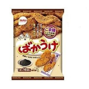栗山米菓 ばかうけ ごま揚 16枚入×12個×2セット