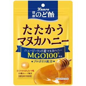 カンロ 健康のど飴たたかうマヌカハニー 80G×6個×2セット