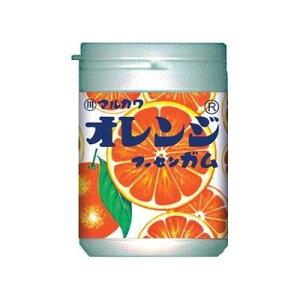 丸川製菓 オレンジマーブルガムボトル 130g×48個