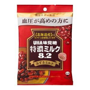 味覚糖 特濃ミルク8.2あずきミルク 93G×6個