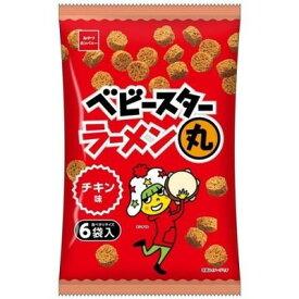 オヤツカンパニー ラーメン丸6Pチキン味 138g×12個