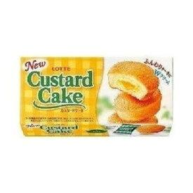 ロッテ カスタードケーキ 6個入×5個×2セット