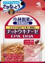【定形外郵便】小林製薬ナットウキナーゼ DHA EPA(30粒)×4個 【約30日分】【納豆キナーゼ】【納豆菌培養エキス】【送料無料】