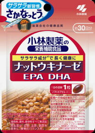 【定形外郵便】小林製薬ナットウキナーゼ DHA EPA(30粒)×2個 【約30日分】【納豆キナーゼ】【納豆菌培養エキス】【送料無料】
