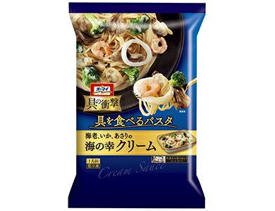 日本製粉 オーマイ具の衝撃海の幸クリーム300g×12袋【送料無料】【冷凍食品】