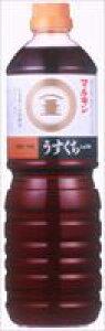 マルキン忠勇 うすくちしょうゆ1L 15本(1ケース) 【送料無料】