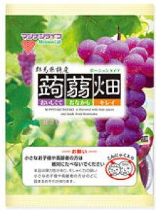 マンナンライフ蒟蒻畑ぶどう味 12袋 【送料無料】