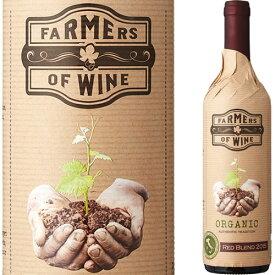 ファーマーズ・オブ・ワイン イタリアン・レッド[2017] 赤ワイン フルボディ 750ml イタリア プーリア州 Farmers Of Wine Organic Red Blend オーガニックワイン