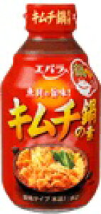 エバラ キムチ鍋の素 濃縮タイプ 300ml×12個 【送料無料】