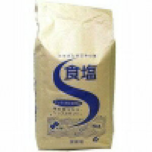 塩事業センター 食塩5kgX4個 【送料無料】