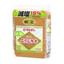 マルサンアイ 減塩こうじみそ 750g×12袋×2ケース 【送料無料】